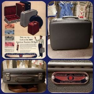 American Tourister vintage luggage suitcase